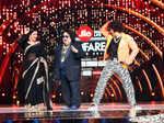 Vidya Balan and Ranveer Singh with Bappi Lahiri