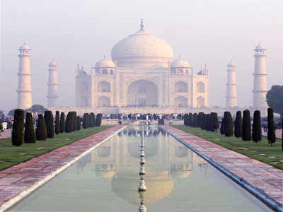 Taj to be open to visitors for 'sunrise viewing' | Agra ...