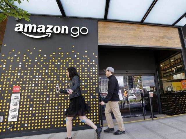 Long queue spotted in front of Amazon Go, the company's 'first-ever' automated grocery store