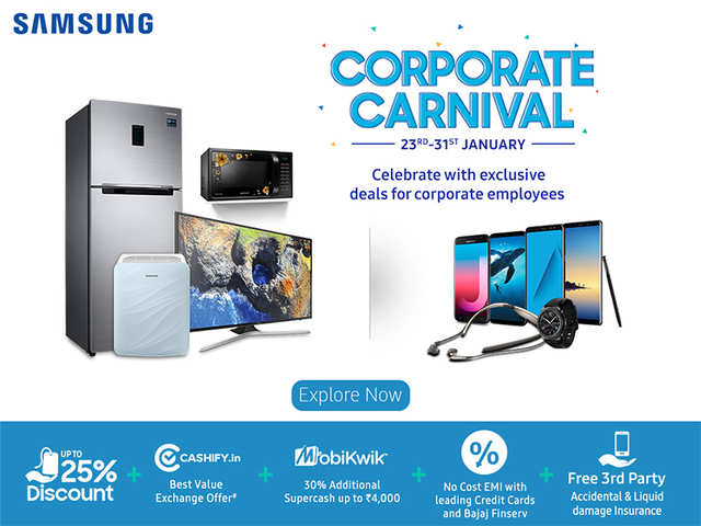 Samsung is offering discounts to employees of 500 companies across India on its products, find out if your's is in the list