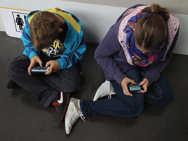Researchers believe this screen time is driving unhappiness rather than the other way around.