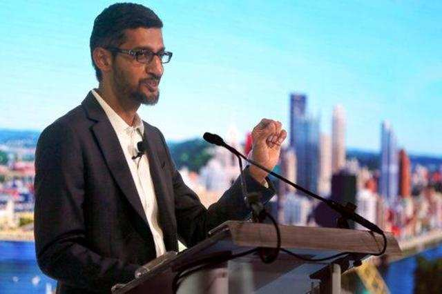 Google CEO Sundar Pichai at Davos: Here's what he said about AI, gender inequality and corporate tax