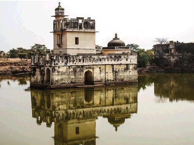 Padmavati Mahal dans le fort de Chittorgarh