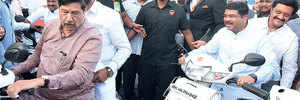No helmetless penalty for leaders as police didn't see the violation
