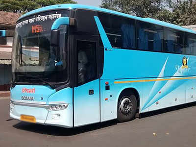 Two killed after being hit by luggage door of bus | India