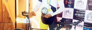 Srinivas clinches 1750-km race in 97.62 hrs