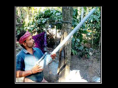 gun a hit among farmers: Innovative scare gun a hit among