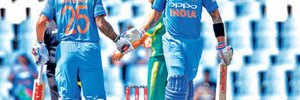 Should Team India have been allowed to take the two runs needed for the ODI win before Sunday's abrupt lunch break?