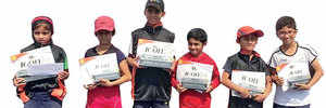 Hood, Chaphale lift titles at Little Champions Tennis
