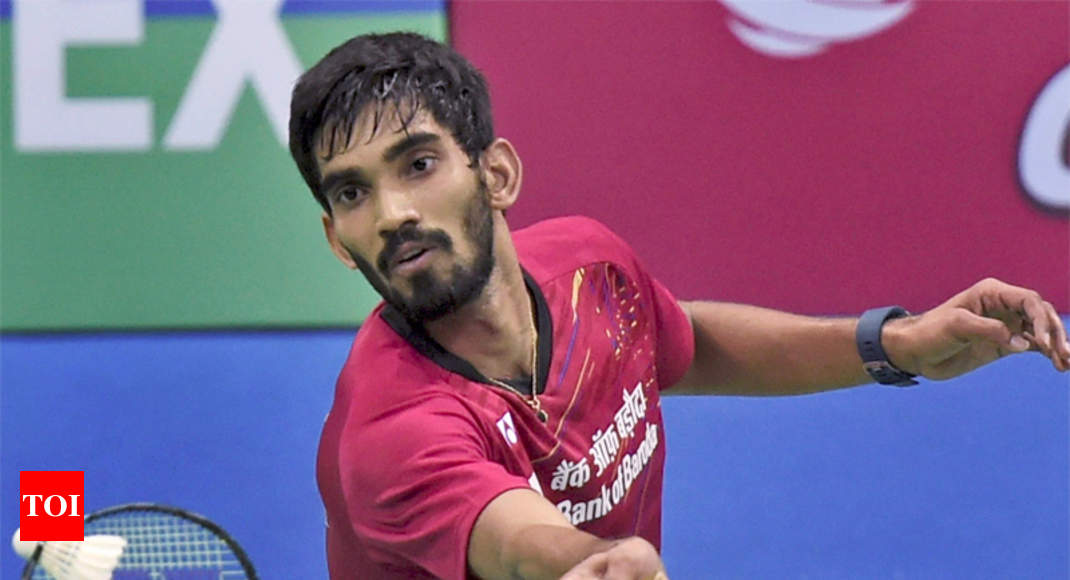 Kidambi Srikanth India Men Thrash Philippines In Badminton Asia