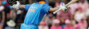 India vs South Africa Fourth ODI: Shikhar Dhawan slams ton in 100th ODI as India manage 289/7