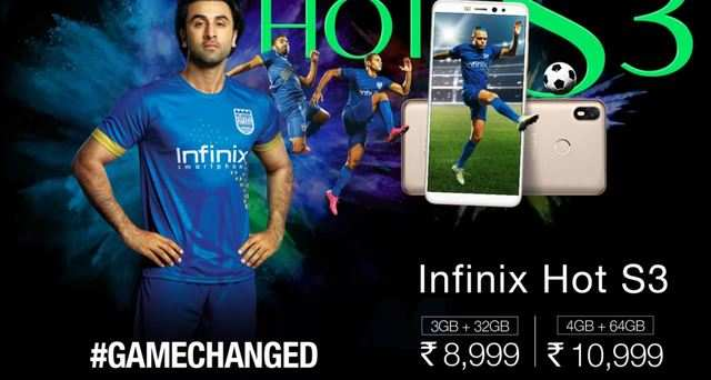 Infinix Hot S3 with 20-Megapixel selfie camera to go on sale today at 12 pm on Flipkart