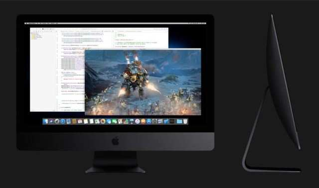 The Apple iMac Pro features a 5mm thin space grey coloured seamless aluminium and glass enclosure of thermal architecture that enables the iMac Pro to deliver up to 80 percent more cooling capacity.