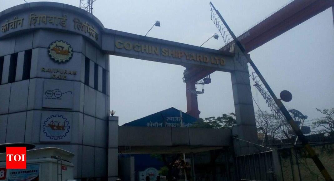 blast in cochin shipyard: five die in fire on ship under repair at