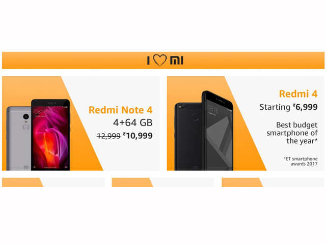 'I luv Mi' sale on Amazon: Up to Rs 2,000 off on Xiaomi mobiles