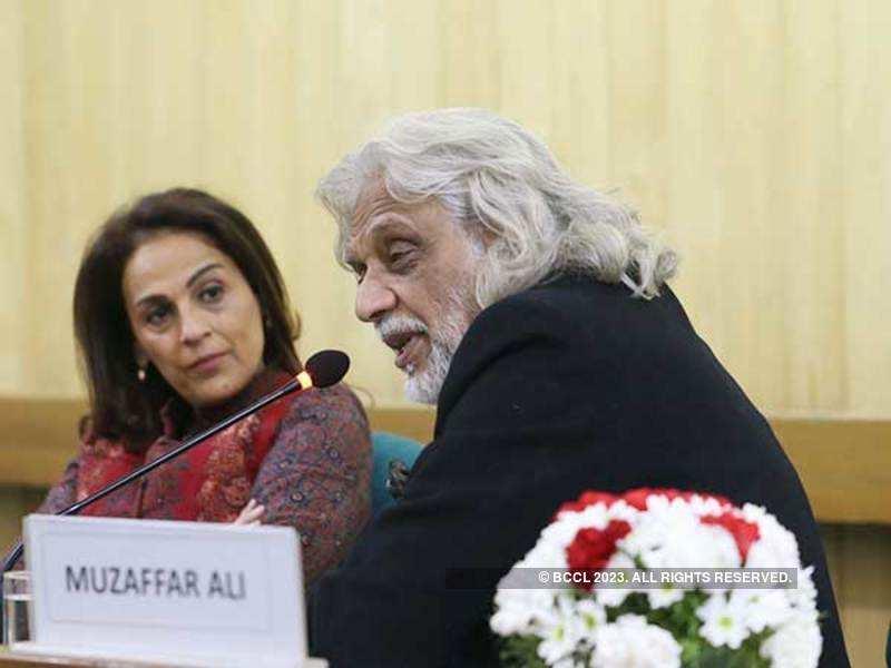 Meera and Muzaffar Ali (BCCL/ Ajay Kumar Gautam)