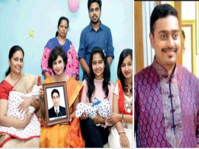 Pune: Using late son's preserved semen, couple gets twin
