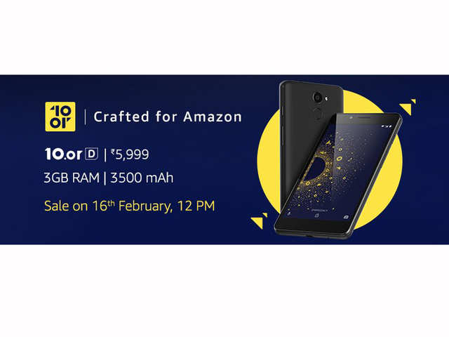 """For those unaware, this device was launched as part of Amazon India's """"Crafted for Amazon"""" programme, through which, Amazon partners with various handset makers to sell devices under its label."""