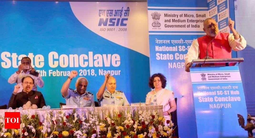 Make optimum use of MSMEs, minister urges Dalit Chamber | Nagpur