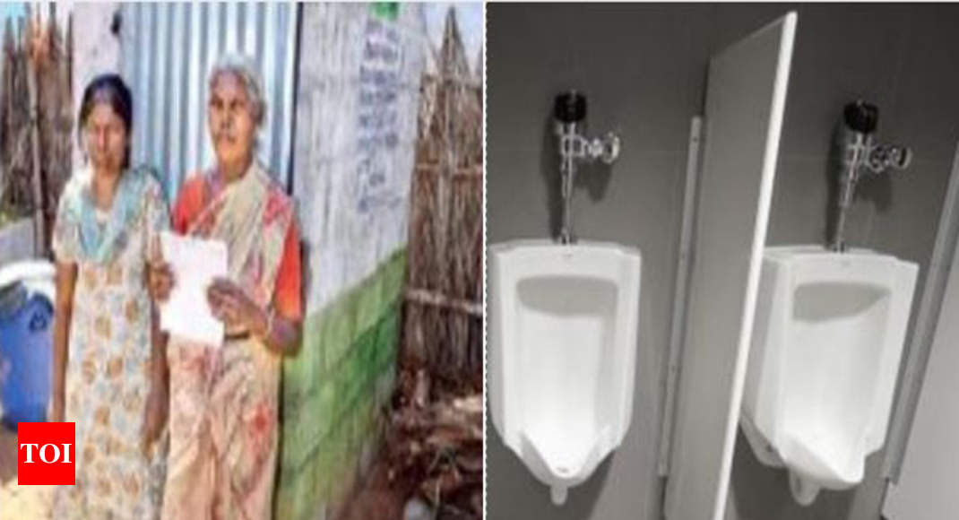 Toilets: Villagers made to pose in front of toilets to siphon off ...