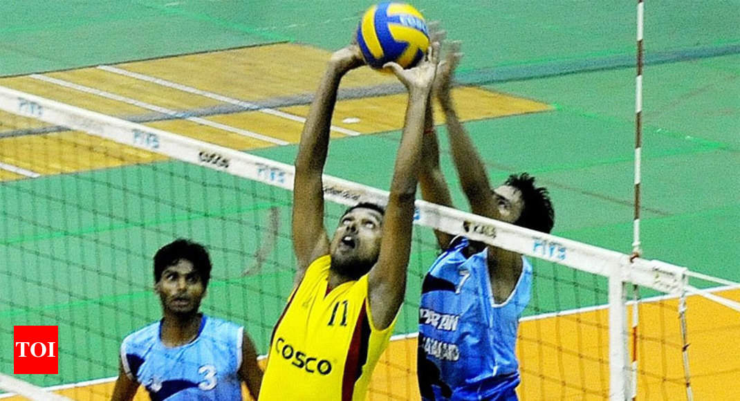 National Volleyball Championships  Kerala start in style  679a5ae761152