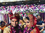 Ankit Tiwari and Pallavi Shukla's wedding ceremony