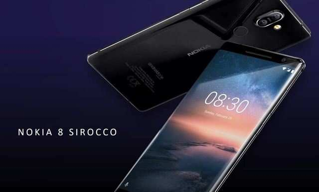 Nokia 8 Sirocco, the most-powerful Android One smartphone with 2K pOLED display and 6GB RAM launched