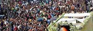 Sridevi's final journey: And they turned up in thousands to say goodbye…