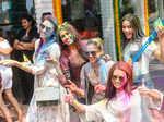 Priyanka Kumari, Sana Dua, Apeksha Porwal and Shraddha Sashidhar and Peden