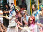 Priyanka Kumari, Sana Dua, Apeksha Porwal, Shraddha Sashidhar and Peden