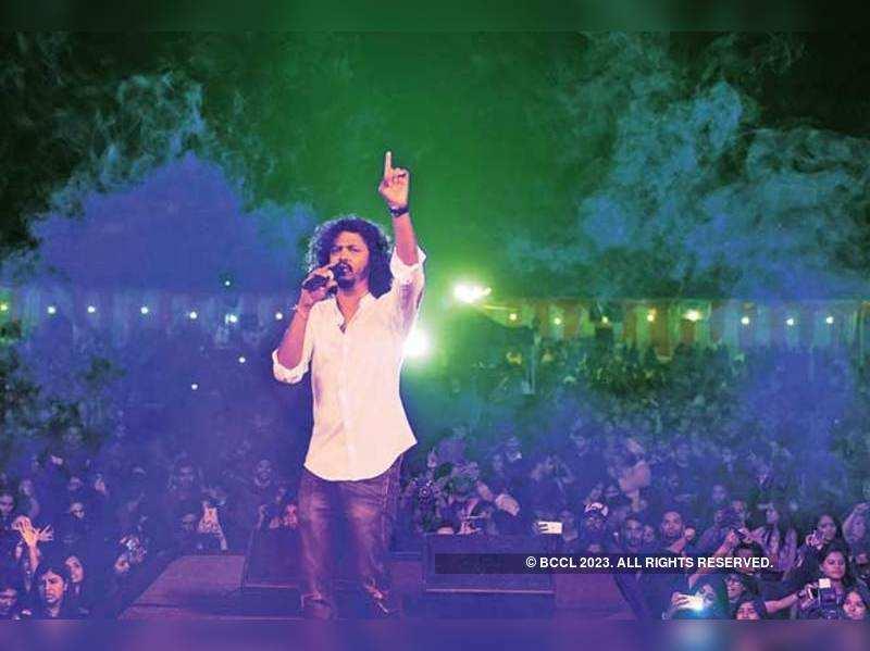 Singer Nakash Aziz at JMC fest (BCCL/ Ranjit Kumar)