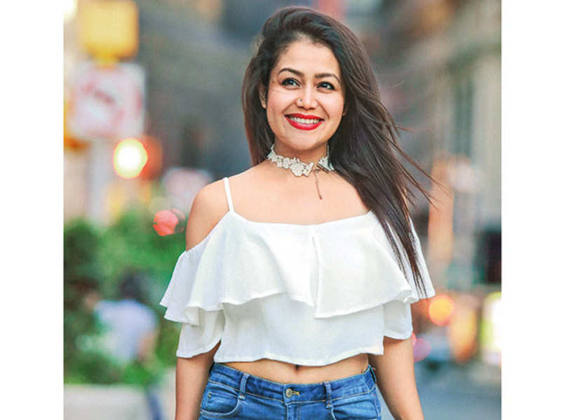 Neha Kakkar Neha Kakkar I Feel Blessed That People Enjoy My Songs Hindi Movie News Times Of India