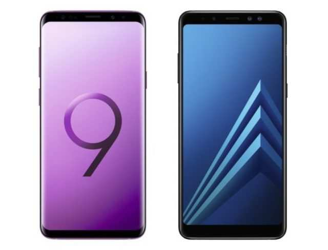 Samsung Galaxy S9 and Galaxy A8 Enterprise Edition announced