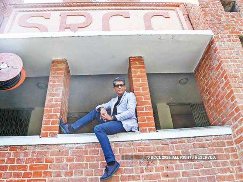 Adil Hussain at SRCC (BCCL/ Nishad Alam)