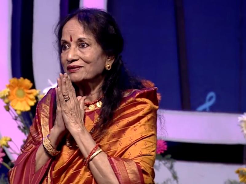 Vani Jayaram moved to tears over pleasant surprise in Sa Re Ga Ma Pa