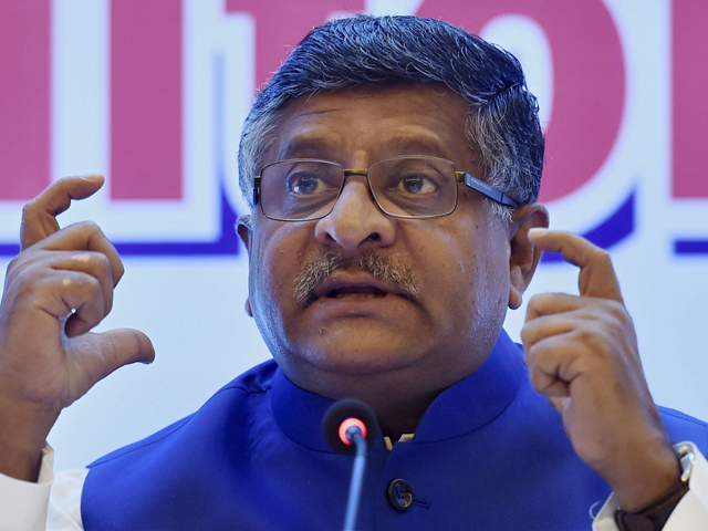 Nations turning to India for digital infra knowhow: Ravi Shankar Prasad