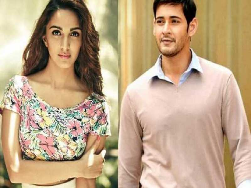 Mahesh Babu and Kiara Advani shooting a romantic number for 'Bharat Ane Nenu'