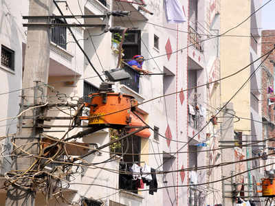 PSPCL will install poles to support loose wires in Zirakpur ... on