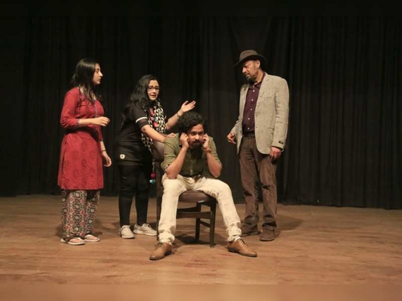 Anjan Dutt as Van Gogh in Kaushik Sen's new play