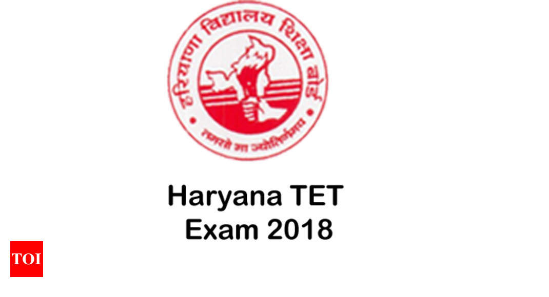 HTET 2018 Notification Application Eligibility Exam Pattern Syllabus Admit Card Results
