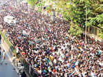Crowd at Sridevi's funeral