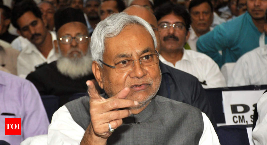 Contested bypolls in Bihar due to BJP's demands: Nitish Kumar