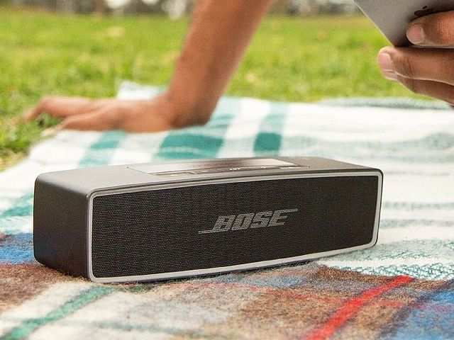 Bose speakers and headphones available at up to 40% discount