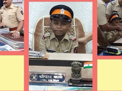 mumbai news: Mumbai Police fulfils wish of 7-year-old cancer