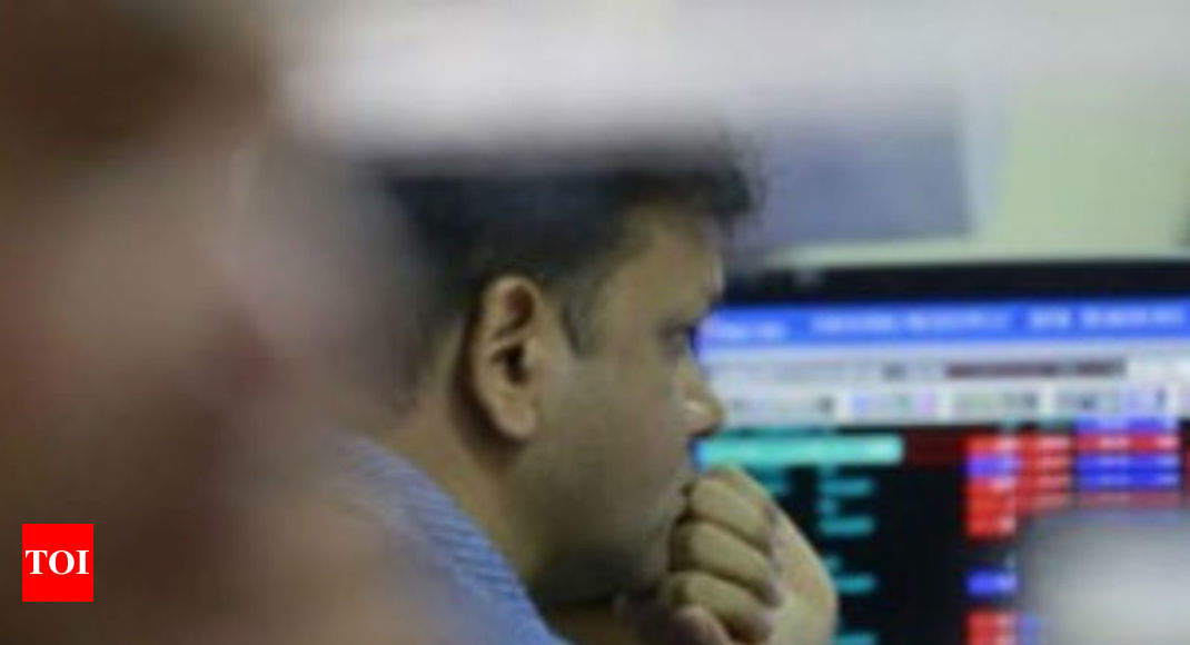 Market crash wipes out Rs 1.57 lakh crore of investor wealth - Times of India
