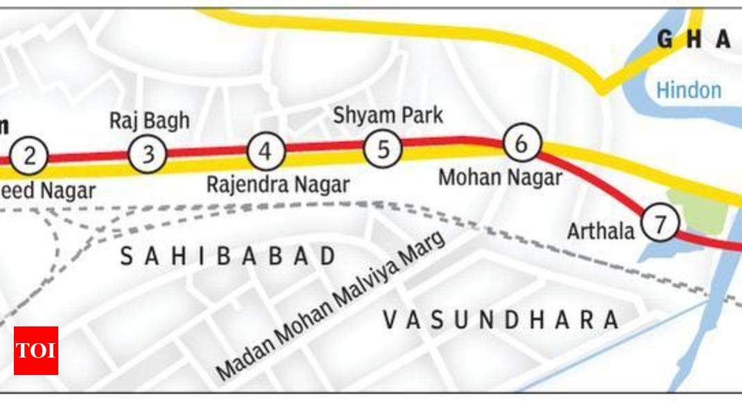 Dilshad Garden New Bus Stand Metro route Land hurdle cleared for