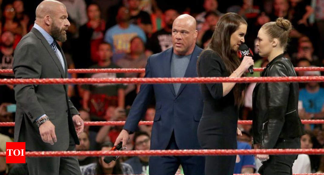 Triple H talks about the Evolution of NXT, favourite Wrestlemania match and Ronda Rousey - Times of India