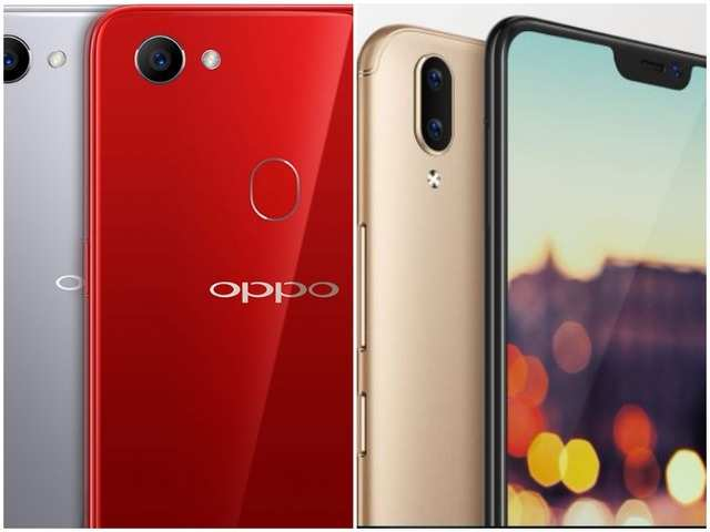 Oppo F7 vs Vivo V9: Which one to buy - Mobiles News | Gadgets Now