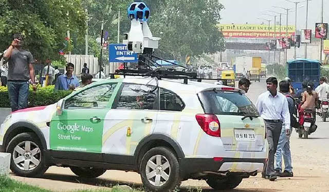 Government has rejected Google's Street View proposal