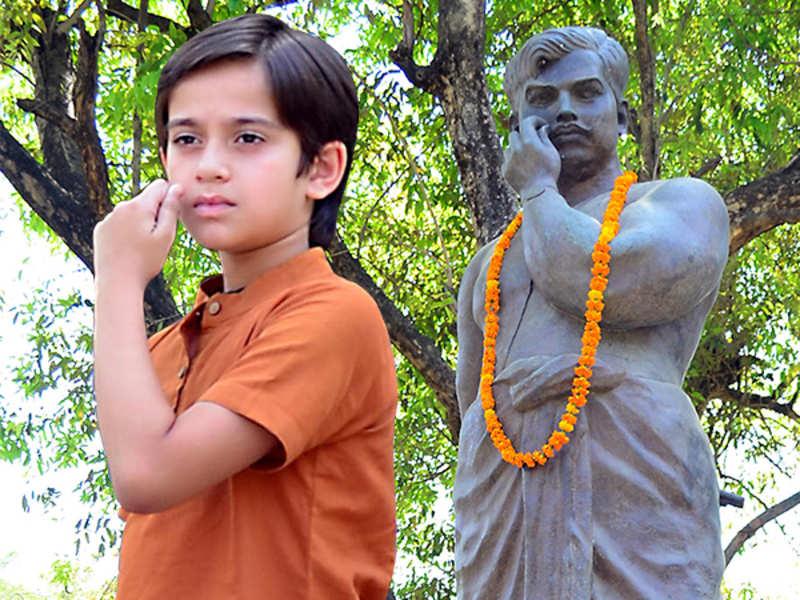 Ayaan Zubair at Chandrasekhar Azad Park in Allahabad (BCCL/ Pankaj Singh)